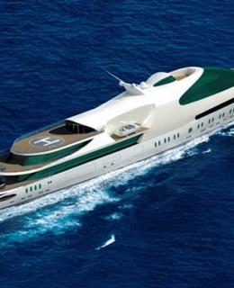 EX fregata A YAS141 metri Greenline
