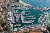 Vista sul Cannes Yachting Festival