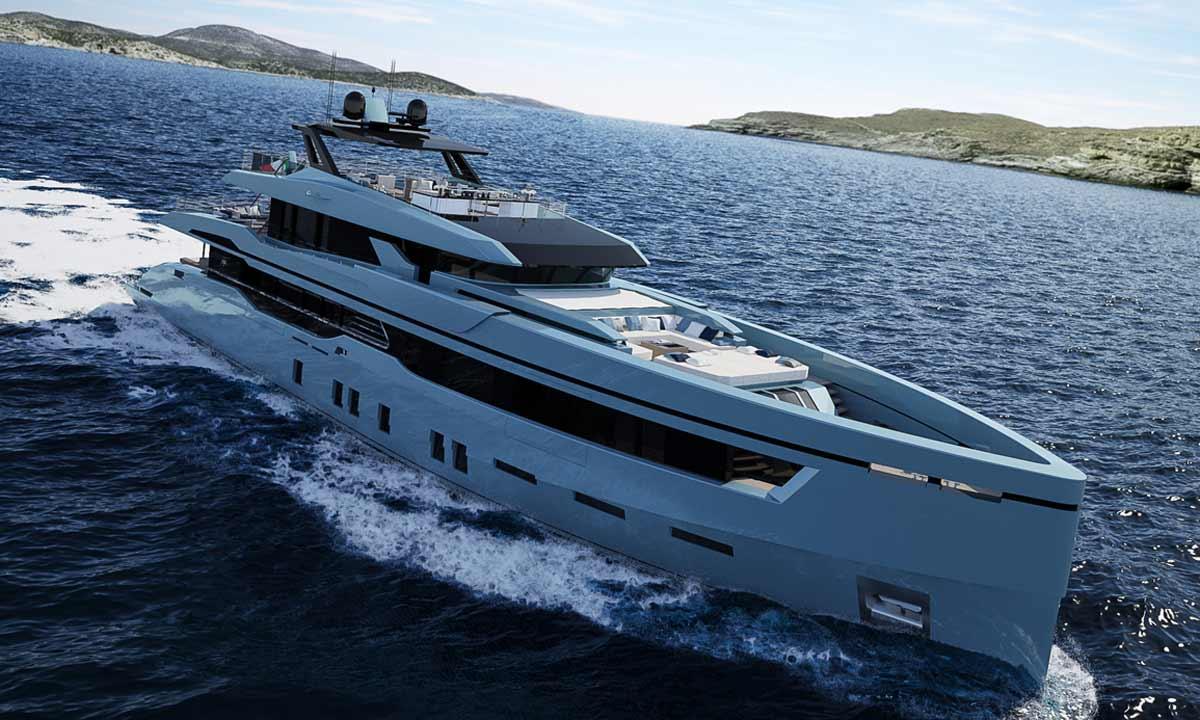 Baglietto, ecco il nuovo 44 metri annunciato al Monaco Yacht Show