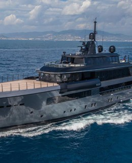 Il 55 metri Atlante (Crn) si aggiudica l'International Superyacht Society Awards