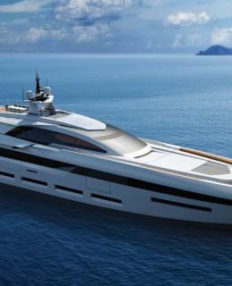 Il nuovo 58 metri open concept di Tankoa Yachts