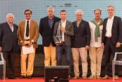 Da sinistra: Gianni Zuccon, Antonio Vettese, Franco Gnesi, Matteo Cappellazzo (con il Premio Diporthesis 2016), Giovanni Ceccarelli, Lorenzo Argento e Alessio Liuni