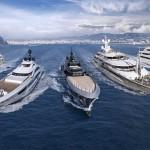 La flotta Crn al Dubai Boat Show
