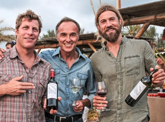 Jason Baffa, Piergiorgio Castellani e Chris Del Moro. Foto di Marcello Rugai