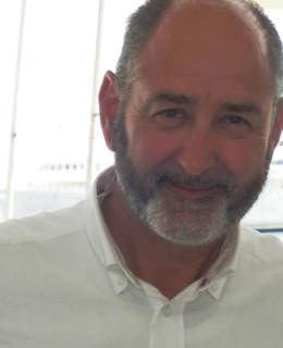Gianfranco Meggiorin, coordinatore di Navimeteo al Captain's Day