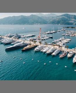 Partnership Porto Montenegro-Seabin Projet. Una suggestiva panoramica del marina montenegrino