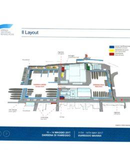 Il layout di Versilia Rendez-vous