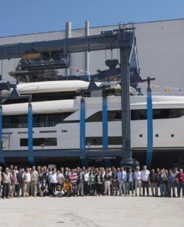Navetta 37 Custom Line varata ad Ancona
