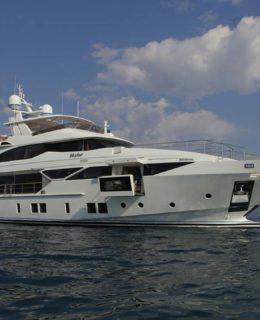 Azimut Yachts-Benetti: ecco il Fast-125 Skyler a marchio Benetti