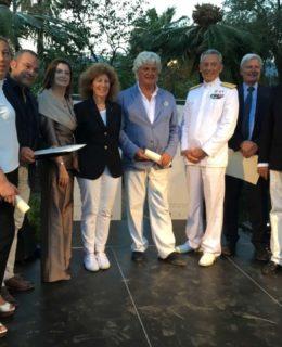 Pionieri della Nautica 2017, foto di gruppo dei premiati