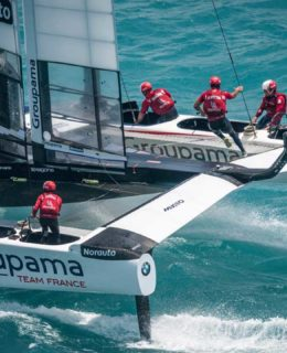 VSG a bordo del catamarano di Groupama Team France