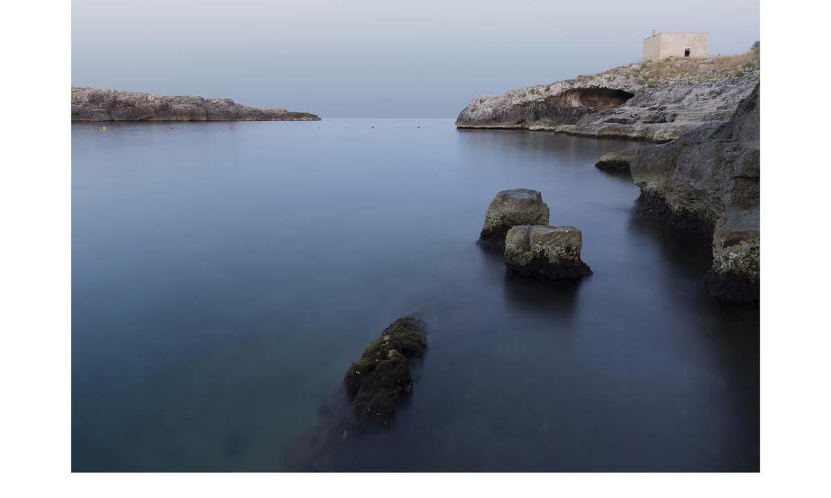 """In fondo sulla destra la grotta delle """"Tagliate"""" (Photo by Giovanni Leo - riproduzione vietata)"""