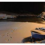 Spettacolo notturno con il manto di neve (Photo by Dario Roselli)