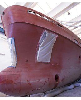 Ccn K40, l'imponente scafo della classe classe light ice