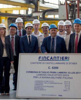 Unità anfibia Trieste, la nave multiruolo che Fincantieri costruirà per la Marina Militare