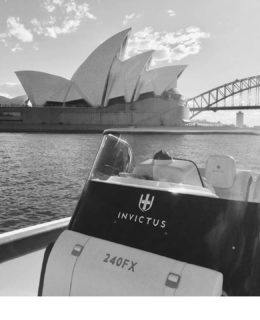 Invictus Yachts al Sydney Boat Show