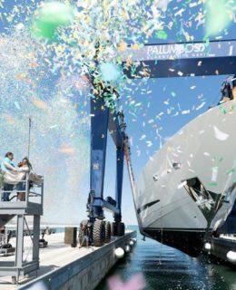 Clorinda, 37 metri, 11° esemplare della linea Sport Isa Yachts