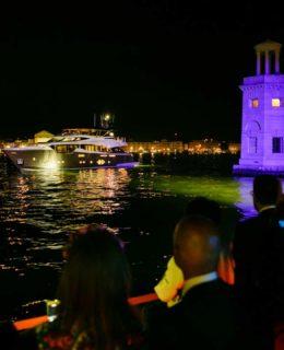 Monte Carlo Yacht 96, notturno in Laguna