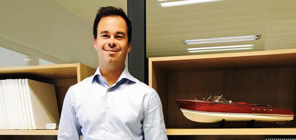 Nuova dealership Ferretti in Benelux. Nella foto Manu Deceuninck, managing director Yacht Consult