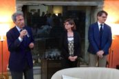 One Ocean Forum. Da-sinistra-commodoro-Riccardo-Bonadeo,-Francesca-Santoro-e-Stefano-Pogutz