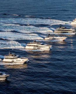 Ferretti sbanca Cannes. La flotta Ferretti Group
