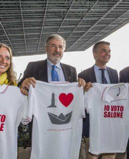 Salvini Show al Nautico con Paola Bordilli, Marco Bucci e Edoardo Rixi