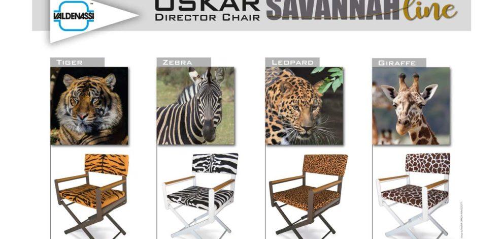Le sedie Valdenassi, la nuova linea Savannah