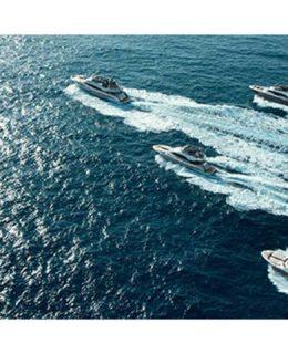Cinque barche della collezione Mcy al Flibs 2017