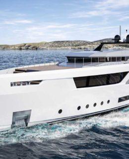 Baglietto VLine, superyacht di 38 metri