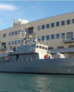 Fincantieri consegna il pattugliatore P61 alle Forze Armate di Malta