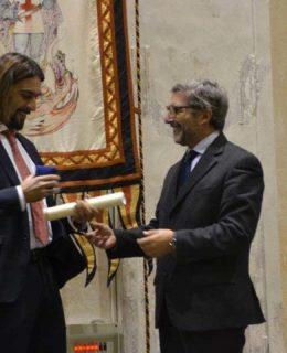 F.lli Razeto e Casareto. Giangi Razeto ritira il premio