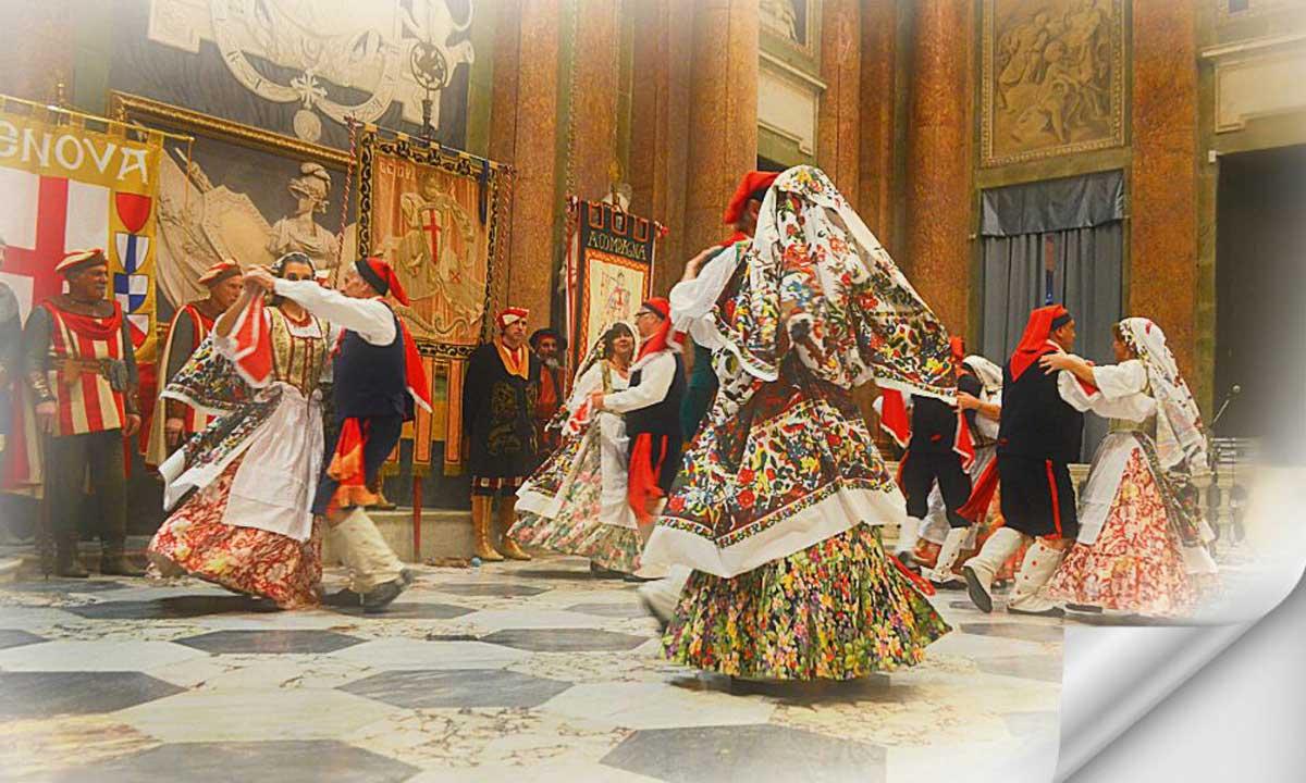 Il Gruppo Folclorico Città di Genova