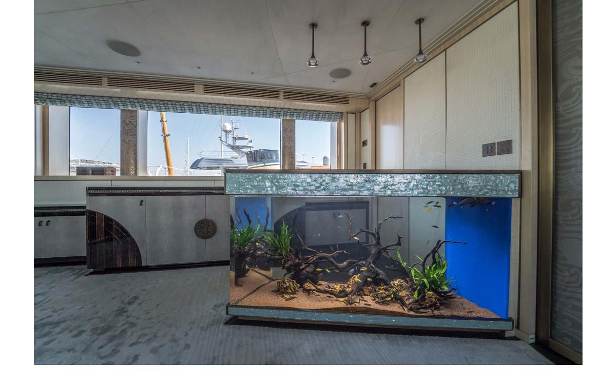 Melik Aquarium. Nella foto una recente realizzazione