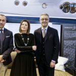 Carla Demaria tra i partner Giorgetti
