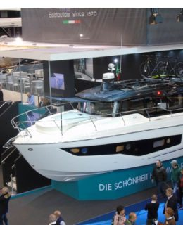 Cranchi T36 Crossover al Boot Düsseldorf