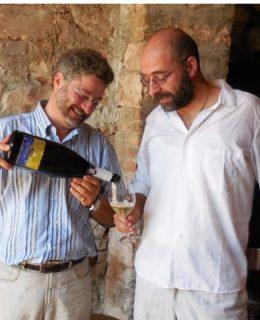 Castellare Rosé. Nella foto Francesco e Lorenzo Sbaffi
