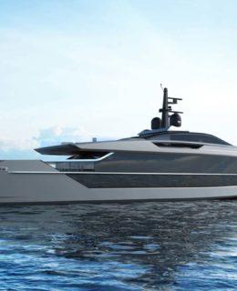 Saetta S533, il nuovo 53 metri di Tankoa Yachts