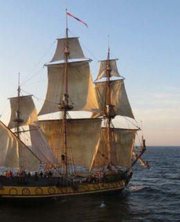 Shtandart, lo storico veliero russo a Marina Cala de' Medici