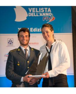 Oscar della Vela: Ruggero Titta e Caterina Banti