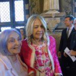 Emanuela Baglietto con la madre