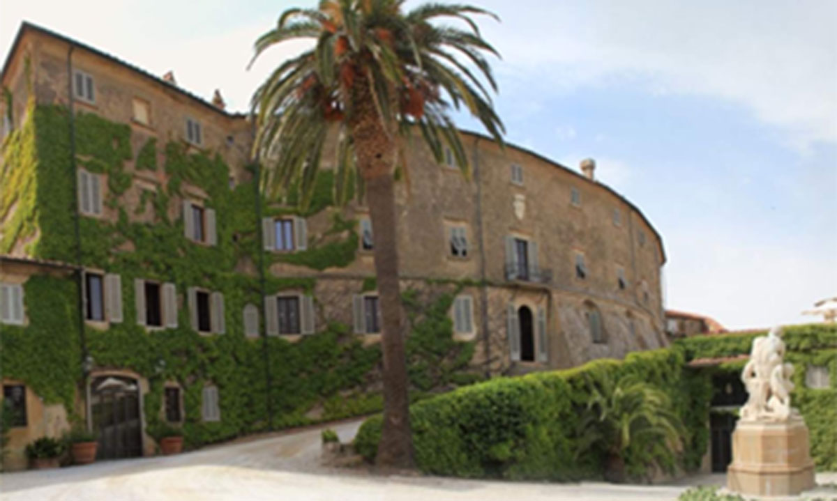 Il castello di Castagneto Carducci