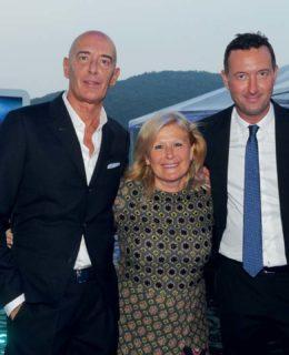 Mauro Micheli, Lia Riva e Sergio Beretta