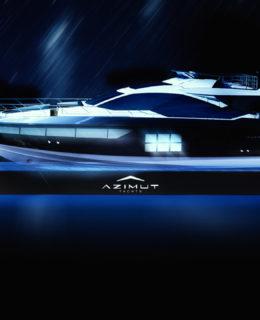 "Design Week 2018: Azimut S7, il ""bello di notte"""