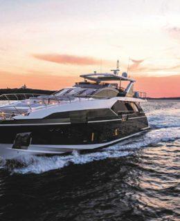 Dieci yacht Azimut al Vyr 2018