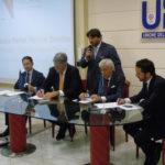 Market Monitor. Da sinistra: Marco Cappeddu, Lorenzo Pollicardo, Lamberto Tacoli, Luca Petroni e Tommaso Nastasi