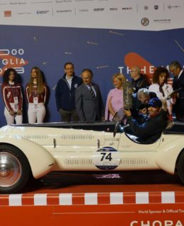 Perini Navi premia l'Alfa Romeo 6C 1750