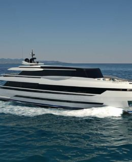 Extra 126 by Isa Yachts (Palumbo Superyachts)