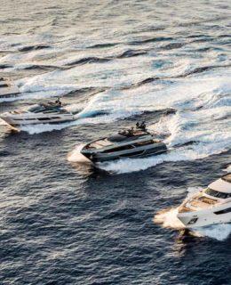 Festa Ferretti Yachts a Venezia, La flotta del gruppo