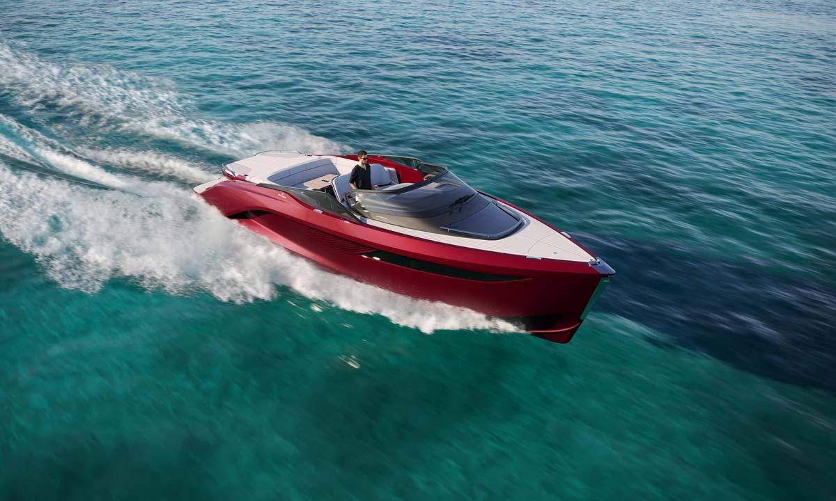 Princess R35 firmata Pininfarina