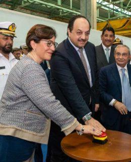 Corvetta Fincantieri per il Qatar